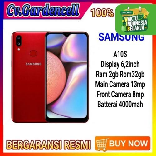 Foto Produk SAMSUNG GALAXY A10s 2/32GB - Hitam dari Garden Cell Official