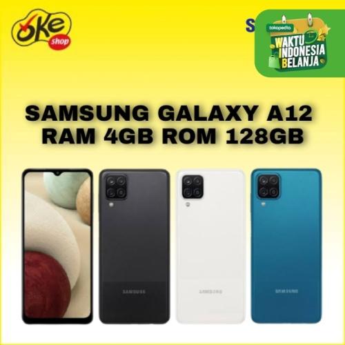 Foto Produk Samsung Galaxy A12 Smartphone (4/128GB) - White dari OKESHOP