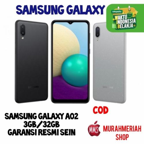 Foto Produk Samsung Galaxy A02 3/32Gb Garansi Resmi SEIN By TAM - grey dari murahmeriah shop