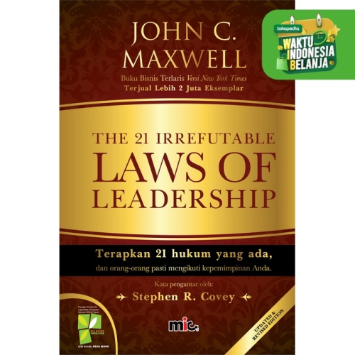 Foto Produk The 21 Irrefutable Laws of Leadership dari MIC Publishing