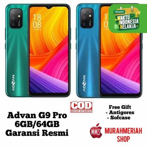 Foto Produk Advan G9 Pro 6/64Gb Garansi Resmi - Biru dari murahmeriah shop