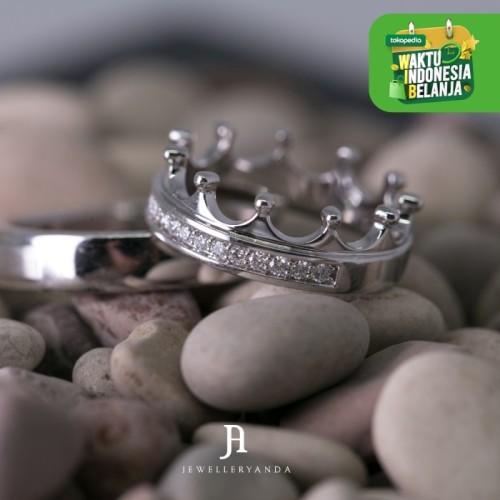 Foto Produk Crown Diamond Ring - Wedding Ring - Jewelleryanda - 10 dari jewelleryAnda_