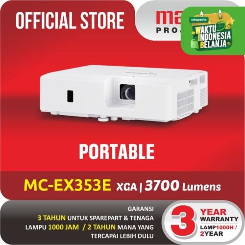 Foto Produk MAXELL PROJECTOR MC EX-353E PROYEKTOR TERBAIK UNTUK SEKOLAH dari Maxell Projector