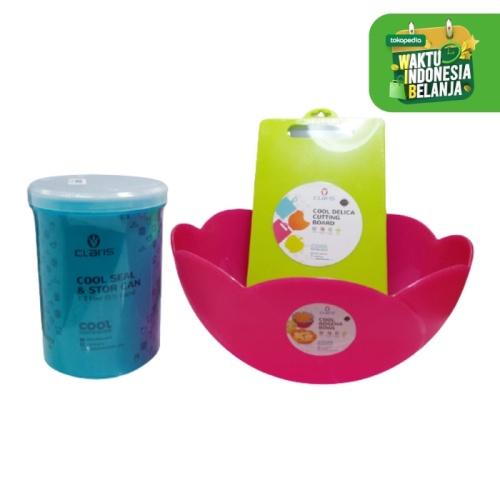 Foto Produk Claris Paket Perlengkapan Adonan Kue/ Wadah saji Mix color dari Enportu Home Living