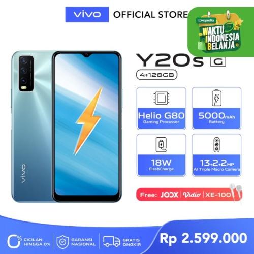Foto Produk Vivo Y20s [G] [4/128] RAM 4GB ROM 128GB Purist Blue dari vivo Indonesia