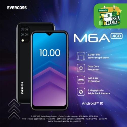 Foto Produk Evercoss M6A 4/32 Ram 4GB Internal 32GB Garansi Resmi - Ram 3/16 GB dari dk-cell