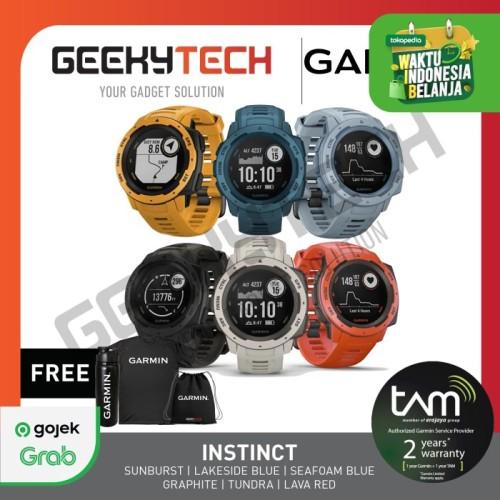 Foto Produk Garmin Instinct - Garansi TAM 2 Tahun - Graphite dari GeekyTech