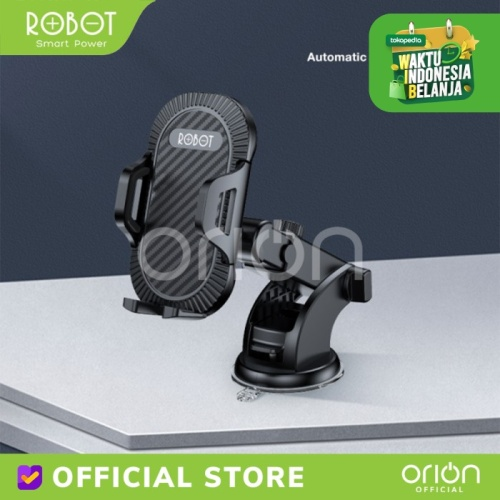 Foto Produk ROBOT Car Holder HP Handphone RT CH-12 Suction Cup Phone Holder Mobil dari ORION Official