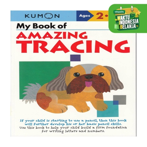 Foto Produk Buku Anak - Kumon - My Book of Amazing Tracing dari Kumon Publishing INA
