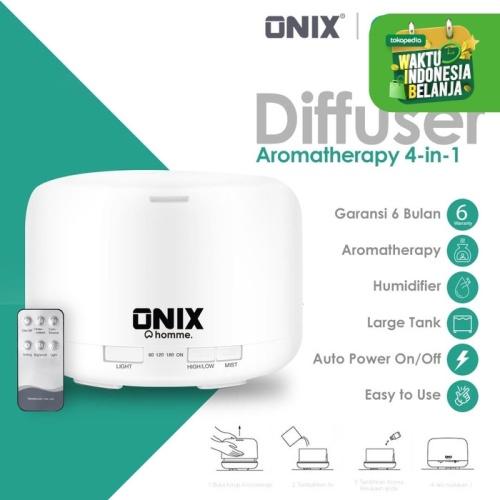 Foto Produk Onix Air Humidifier Aroma Diffuser 7 LED - 500ML dari Onix Gadget Official