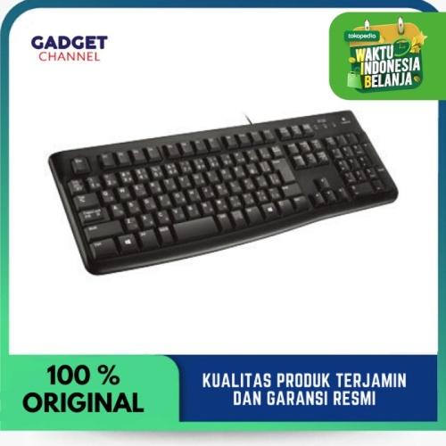 Foto Produk Logitech Keyboard K120 | Keyboard logitech - Garansi Resmi 1 Tahun dari Gadget Channel
