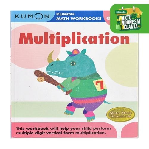 Foto Produk Buku Anak - Kumon - Grade 4 Multiplication dari Kumon Publishing INA