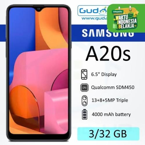 Foto Produk Samsung Galaxy A20s 3/32 GB Garansi Resmi SEIN - Hijau dari Gudang-HP