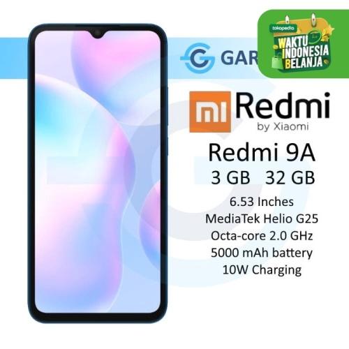 Foto Produk Xiaomi Redmi 9A 3/32 GB 3GB 32GB Garansi Resmi Xiaomi Indonesia - Abu-abu dari Garasi.ku