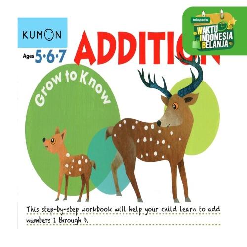 Foto Produk Buku Anak - Kumon - Grow to Know: Addition dari Kumon Publishing INA