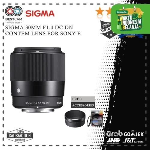 Foto Produk Sigma 30mm F1.4 DC DN Contemporary Lens For Sony E dari BestCam