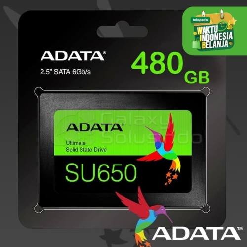 "Foto Produk Adata SSD Internal SU650 Ultimate 480GB 2.5"" SATA III 6Gb/s dari Sky Technology"