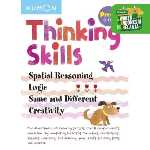 Foto Produk Buku Anak - Kumon - Thinking Skills Pre-K & Up Bind-up dari Kumon Publishing INA