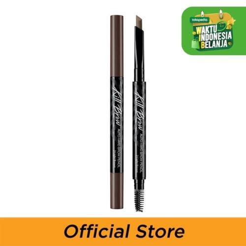 Foto Produk Ciio Kill Brow Auto Hard Brow Pencil 02 Light Brown dari Clio Professional