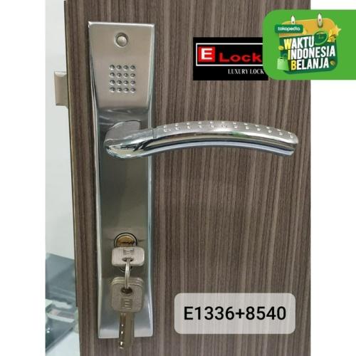 Foto Produk Kunci Pintu Elock Bergaransi E1336+8540+K60SET dari EuropeEnchanting