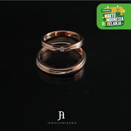 Foto Produk Deana Wedding Ring - Wedding Ring - Jewelleryanda - 10 dari jewelleryAnda_
