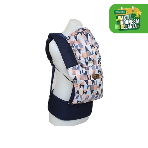 Foto Produk BABY CARRIER M-SHAPE 2 GO DIAMOND SERIES - B2G1107 - Biru dari Baby Scots