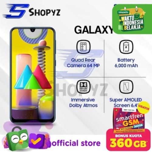 Foto Produk SAMSUNG GALAXY M31 - 6000mAh Battery - 6GB 128GB 6/128 - Garansi Resmi - Merah dari Shopyz ID