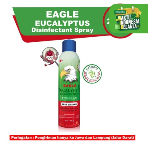 Foto Produk CAP LANG Eagle Eucalyptus Disinfectant Spray 280ml dari CAP LANG OFFICIAL STORE