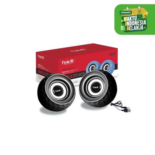Foto Produk HAVIT Speaker HV-SK486 USB 2.0 Mini speaker - Hitam dari HAVIT OFFICIAL STORE