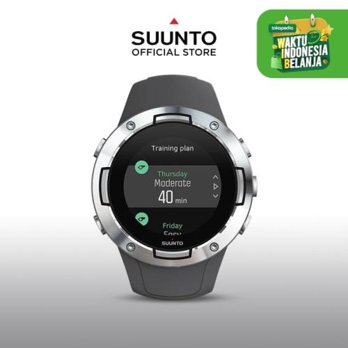Foto Produk Jam Tangan Pintar Suunto 5 Graphite Steel dari Suunto Official Store