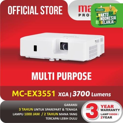 Foto Produk MAXELL PROJECTOR MC-EX3551E PROYEKTOR MULTI PURPOSE dari Maxell Projector