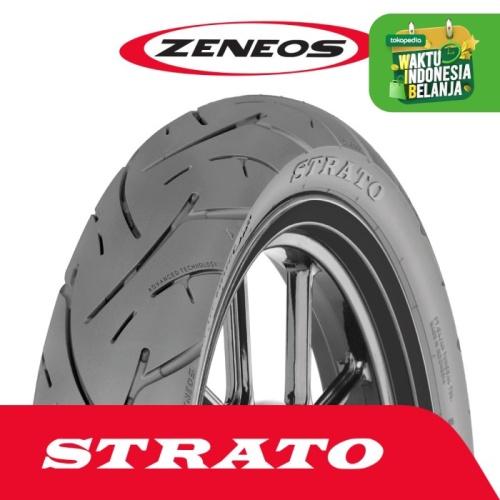 Foto Produk Ban Depan & Belakang Motor Zeneos 100/80-14 STRATO Tubeless Honda PCX dari Zeneos Official Store