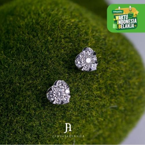 Foto Produk Love diamond Earring - Diamond Earring - Jewelleryanda dari jewelleryAnda_