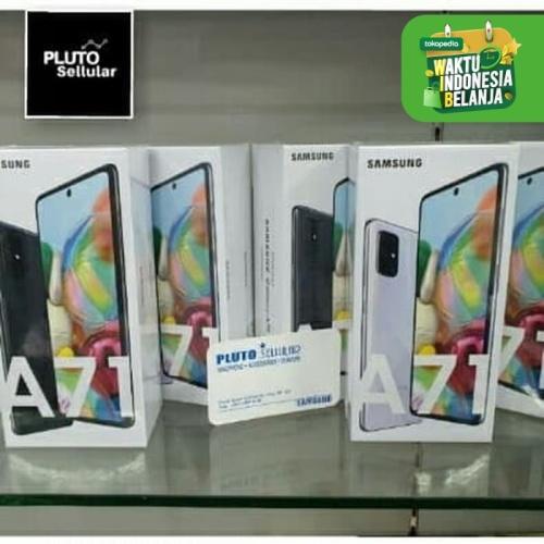 Foto Produk Samsung Galaxy A71 8/128Gb Grs resmi Sein - Biru dari Pluto sellular
