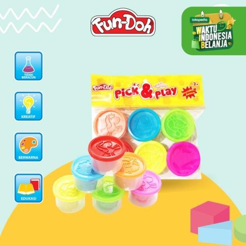 Foto Produk Fundoh Pick And Play - Mainan Anak - Mainan Edukasi - Mainan Lilin dari Acosta Official