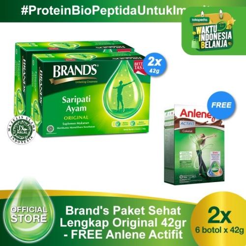 Foto Produk Brand's Paket Sehat Lengkap - Original 42 gr Free Anlene Actifit dari Brand's Official