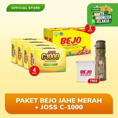Foto Produk Paket Bejo Jahe Merah + Joss C1000 FREE Tumblr + Lunch Box dari Bintang Toedjoe Official
