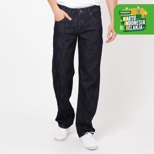 Foto Produk Papperdine 007 Navy Regular Fit Celana Panjang Jeans Pria - 31 dari Papperdine Jeans