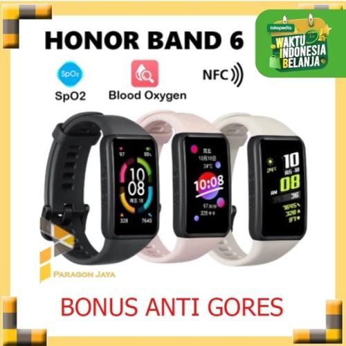 Foto Produk Huawei Honor Band 6 Smartwatch Smart Band Heart Rate Alt 5 Watch Fit - Hitam dari ParagonJaya