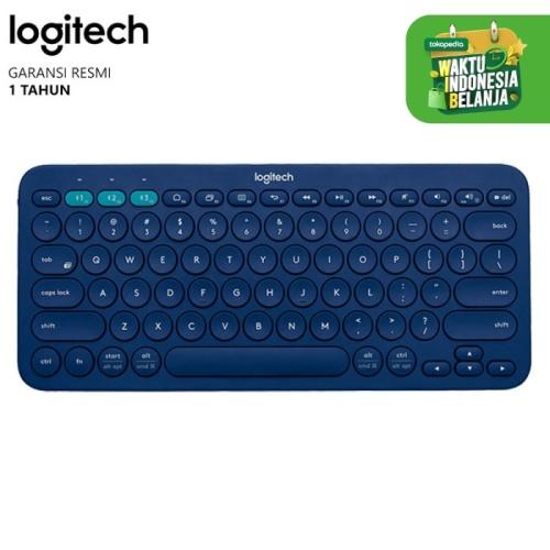 Foto Produk Keyboard Bluetooth Multimedia Logitech K380 (L089) - Biru dari Ridista Official Store