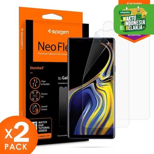 Foto Produk Screen Protector Note 9 Full Spigen Neo Flex HD Samsung Original dari Spigen Official