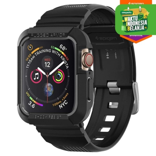Foto Produk Strap Apple Watch 42mm 3 2 1 Case Spigen Softcase Rugged Armor Pro dari Spigen Official
