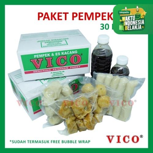 Foto Produk Paket 30 Pempek Kecil - Pempek Vico dari Pempek Vico Official