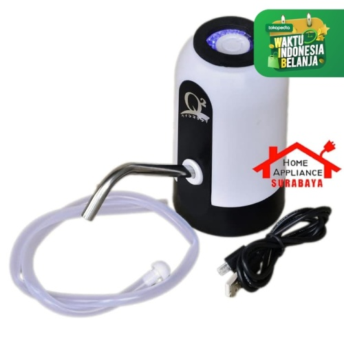 Foto Produk Pompa Air Galon Listrik Elektrik USB Charge Q2 678 / Q2-678 dari Home Appliance Surabaya