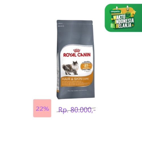 Foto Produk royal canin - 400g hair skin care makanan kucing cat food hair&skin dari atanta Shop