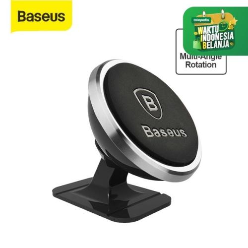 Foto Produk BASEUS CAR HOLDER MAGNET 360 DEGREE ROTATION PHONE PENYANGGA HP MOBIL - Hitam dari BEST TEKNO