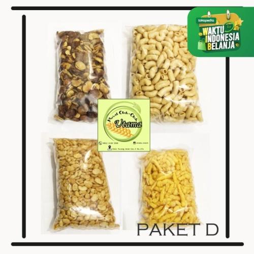 Foto Produk Paket varian isi 4 snack kiloan surabaya murah 1kg mix produk - PAKET D dari Utama.Snack