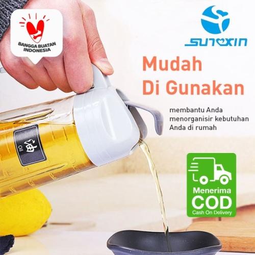 Foto Produk Botol Minyak Goreng / Saos / Kecap / Jus / Botol Serbaguna 650 Ml dari SUNXIN