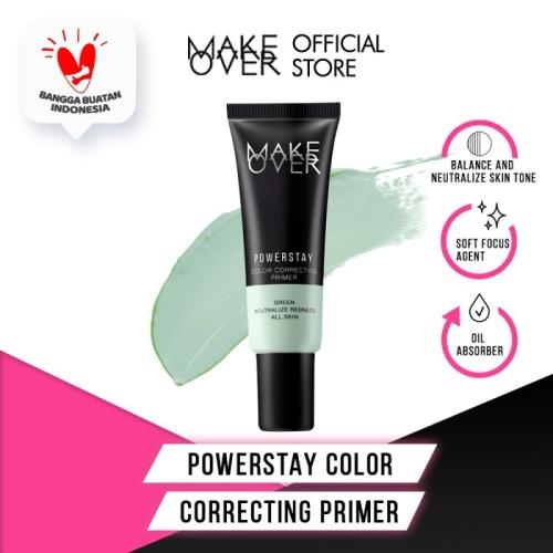 Foto Produk MAKE OVER Powerstay Color Correcting Primer - Green dari Make Over Official Shop