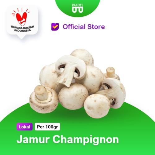 Foto Produk Jamur Champignon Fresh dari Bakoel Sayur Online
